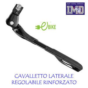 """Cavalletto Laterale Regolabile Alluminio Bici 20 /"""" 28 /"""" 26 /"""" 24 /"""""""