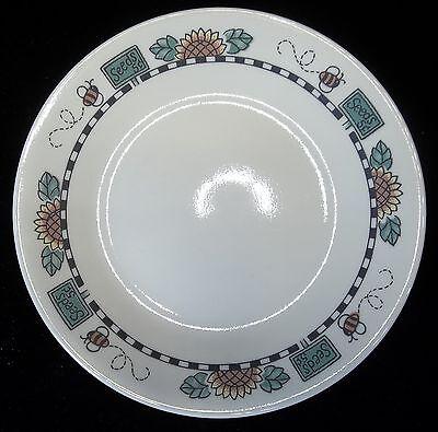 "Corelle Corning Inc Bread & Butter Dessert Salad Plate SunBlossoms 6-5/8"" dia."