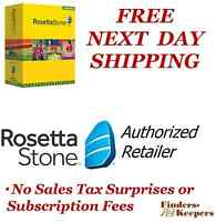 Rosetta Stone Italian Levels 1 2 & 3 Homeschool +audio Companion_headset