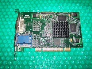 MATROX MILLENNIUM G450 DUAL HEAD DVI PCI WINDOWS 7 DRIVER