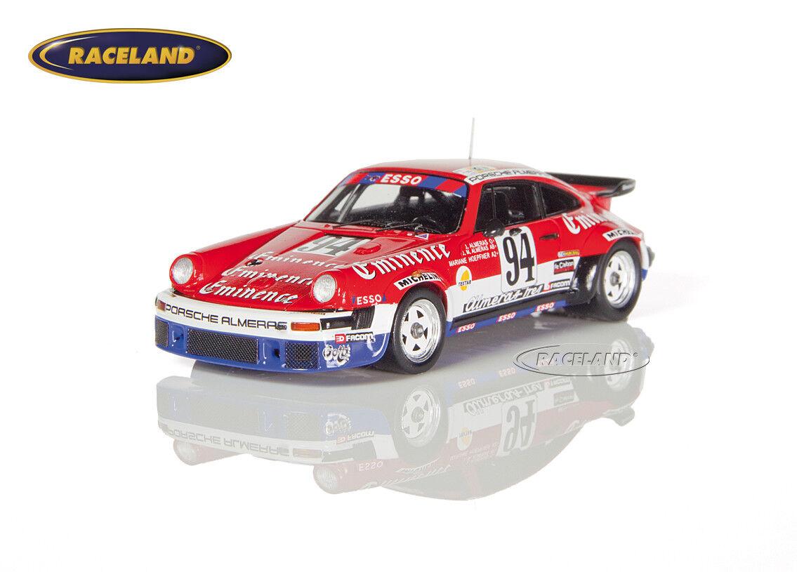 Porsche Porsche Porsche 934 Turbo Alméras Eminence Le Mans 1980 Alméras Alm. Hoepfner Spark 1 43 975981