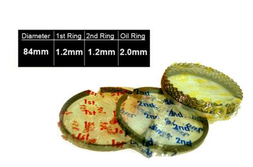 PISTON RINGS FOR 07-09 Sentra Versa 1.8L 2.0L MR18DE MR20DE DOHC