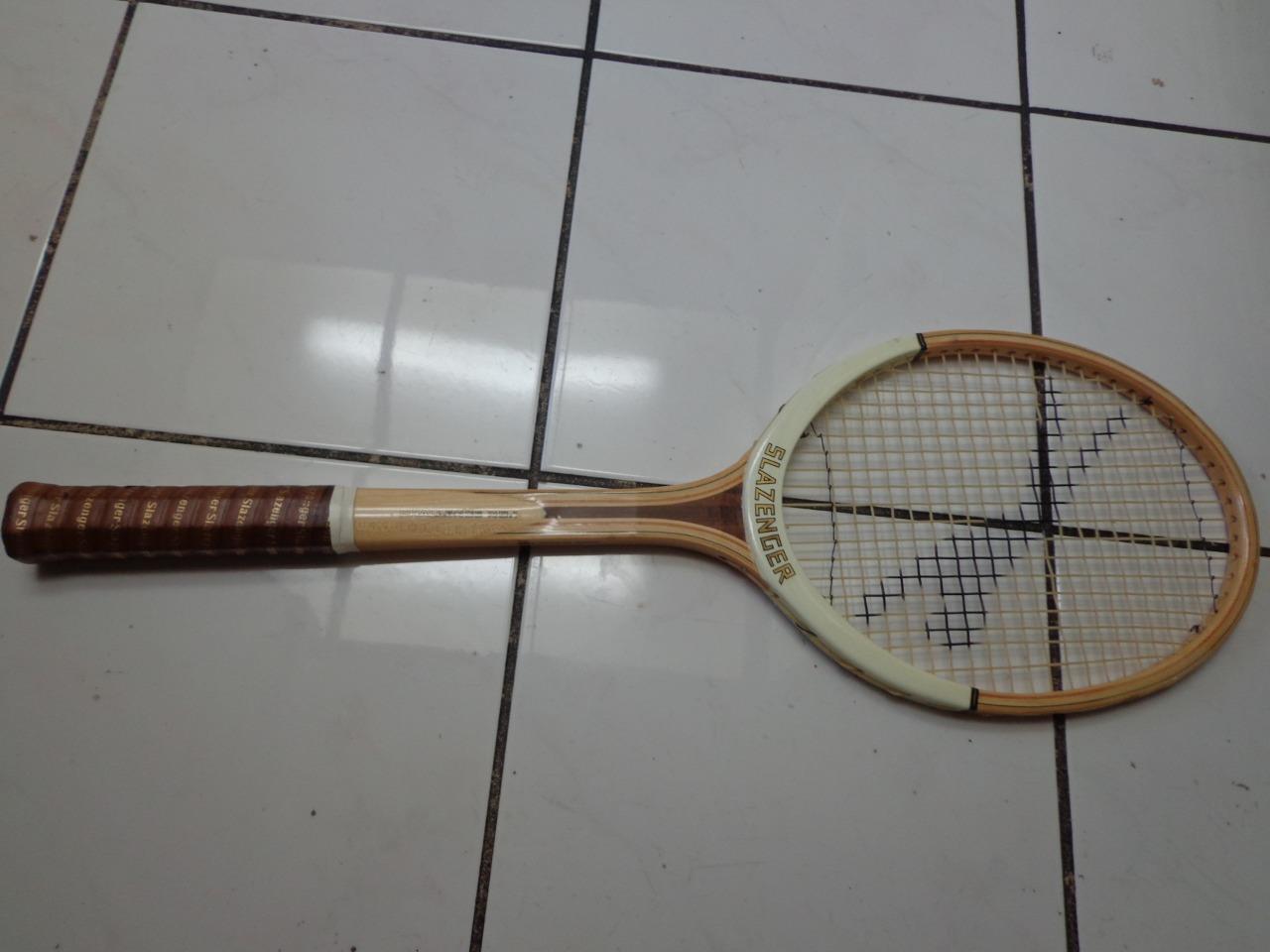 Slazenger Challenge 1 marcos de madera reproductor de colección 4 5 8 tenis raqueta