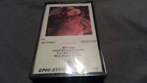 """The Charlie Daniels Band """"Whiskey"""" Cassette with paper label"""