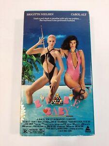 Bye Bye Baby VHS 80's Sex Comedy 1988 Prism Carol Alt Brigitte Nielsen Hustler