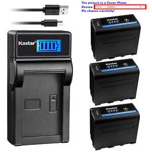 Kastar-Battery-LCD-Charger-for-Sony-NP-F970PRO-MVC-FD73-MVC-FD75-MVC-FD81
