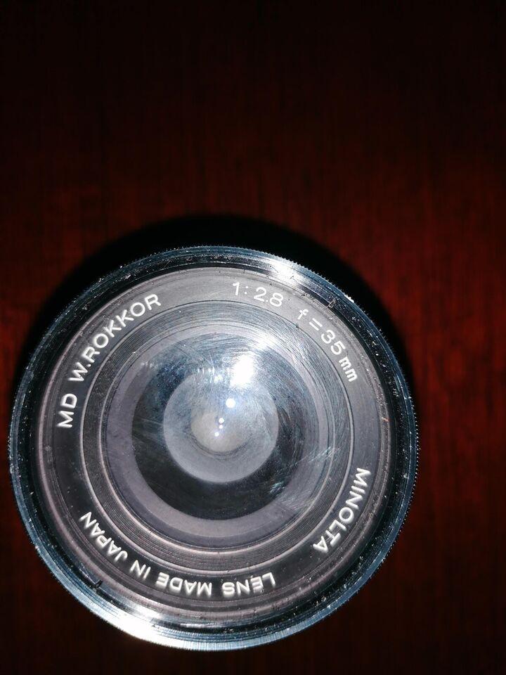Vidvinkel, zoom mm, andet mærke