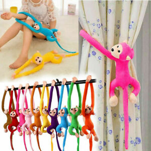 Colorful-Lungo-Braccio-Scimmia-appesa-morbido-peluche-Bambola-Peluche-Giocattolo-Bambini-Baby-DU