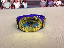 WWE Mattel Purple Oval Intercontinental Title Belt Championship VAC Accessory