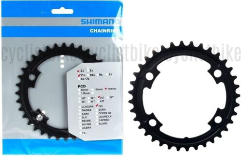 36T Shimano 105 FC-5800 110mm BCD 4 Arm Chainrings
