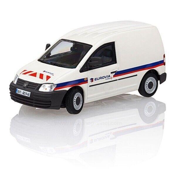 Très rare Authentique VW Caddy 2K delivery van Vinci Vinci Vinci EUROVIA construction 1:50 WSI | Divers Les Types Et Les Styles  579bb1