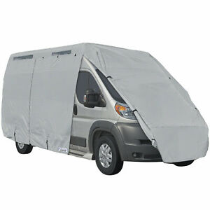 Rv Motorhome Class B 4 Layer Outdoor Winter Storage Cover Fits Up To 25 Grey Ebay
