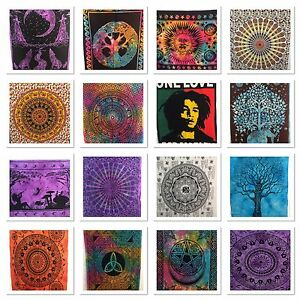 tapisserie-murale-Inde-Mandala-Hippy-Affiche-taille-boheme-housse
