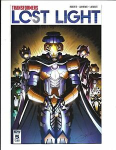 TRANSFORMERS-LOST-LIGHT-5-APR-2017-NM-NEW-Bagged-amp-Boarded