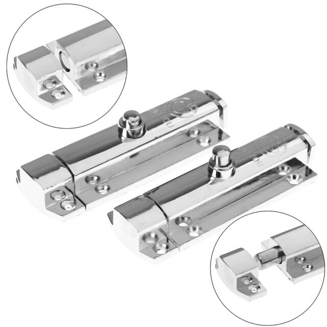 Home Door Security Guard Latch Bolt Gate Lock Stainless Steel Spring Loaded new!