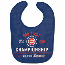2016 Chicago Cubs My 1st World Series Championship Baby Bib