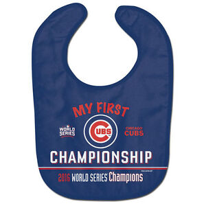 Chicago Cubs 2016 World Series Baby Bib Infant Toddler Newborn Baby Shower MLB