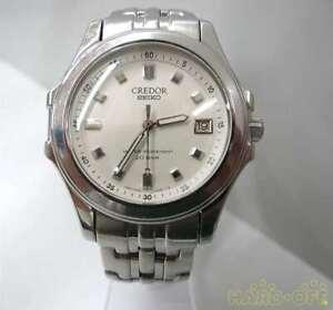Seiko-Credor-Stainless-Steel-Quartz-Mens-Watch-Authentic-Working