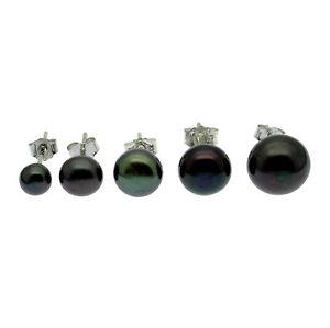 Black-Pearl-Earrings-AA-Cultured-Freshwater-Pearls-Sterling-Silver-Stud