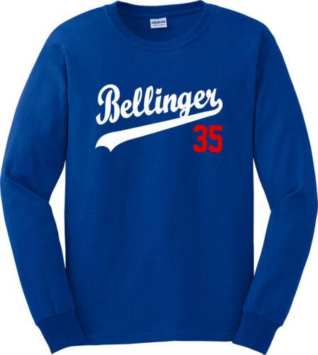 "Cody Bellinger Los Angeles Dodgers /""35/"" Jersey shirt Hooded SWEATSHIRT"