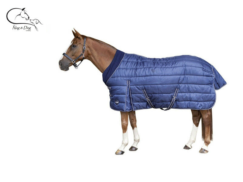 HKM 'Innovation' 350G Horse Stable Rug Fleece Collar Heavy Weight 210D Outer