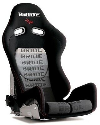 PAIR Black BRIDE GIAS V2 Carbon KEVLAR LOW MAX Reclining Mechanism RACING SEAT