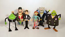 2006 Flushed Away Complete Set of 6 McDonald's Happy Meal Action Figure Toys
