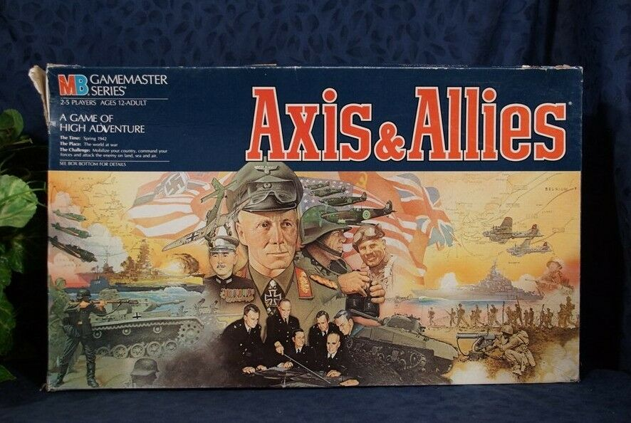 Nice Axis & Allies Game