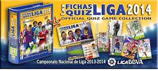 LOTE 32 CROMOS (Completo Top Verde) - Malaga CF  2013/2014 - CARD Mundicromo