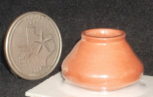 Patio Dollhouse Miniature Terracotta Garden Pot #22-46 1:12 Floral Yard