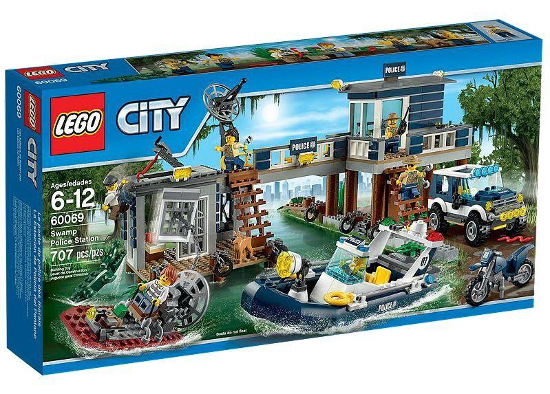 LEGO® City 60069 Polizeiwache im Sumpf NEU_ Swamp Police Station NEW MISB NRFB