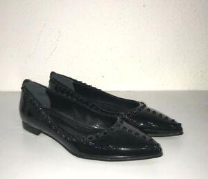 new styles 3a50c 71d87 Dettagli su GIACOMORELLI scarpe shoes n. 37 donna woman nero vernice