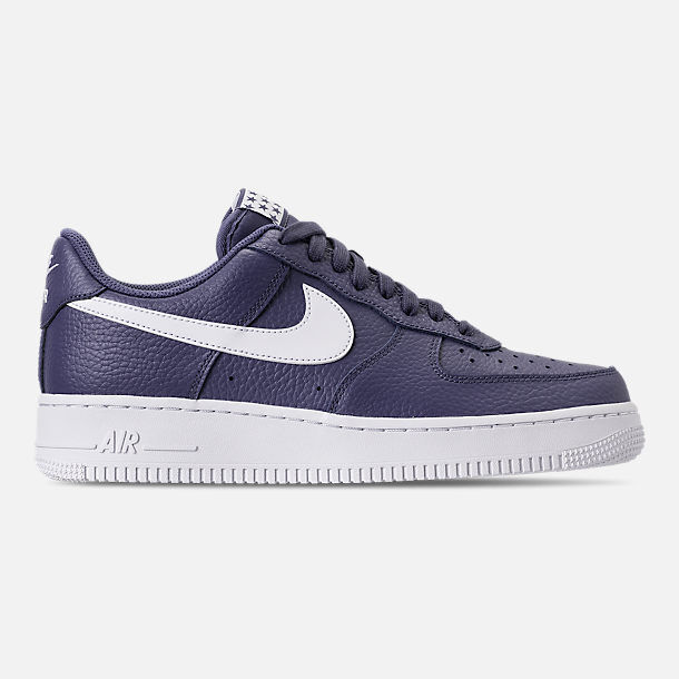 AA4083-401 Nike Air Force 1 '07 Low Lifestyle blueee Recall White Sizes 8-12 NIB