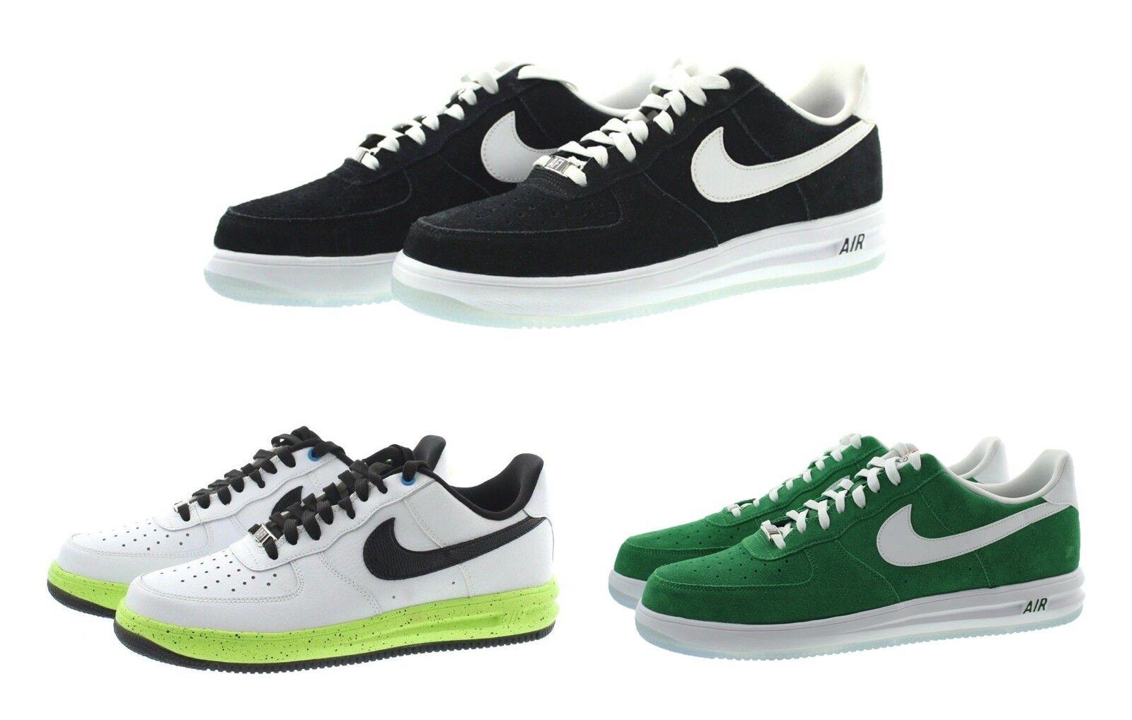 Nike air force 1 af1 top lunar 654256 männer niedrige top af1 - lifestyle - casual schuhen turnschuhe b66319