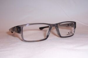 NEW-OAKLEY-EYEGLASSES-AIRDROP-OX-8046-8046-03-GRAY-53mm-RX-AUTHENTIC-804603
