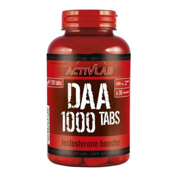 Activlab DAA 1000 mg Testosterone Booster - 120 Tablets for sale online eBay