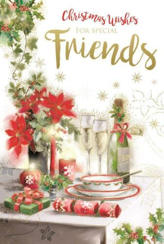 Christmas Wishes For Special Friends Kingfisher Christmas Card