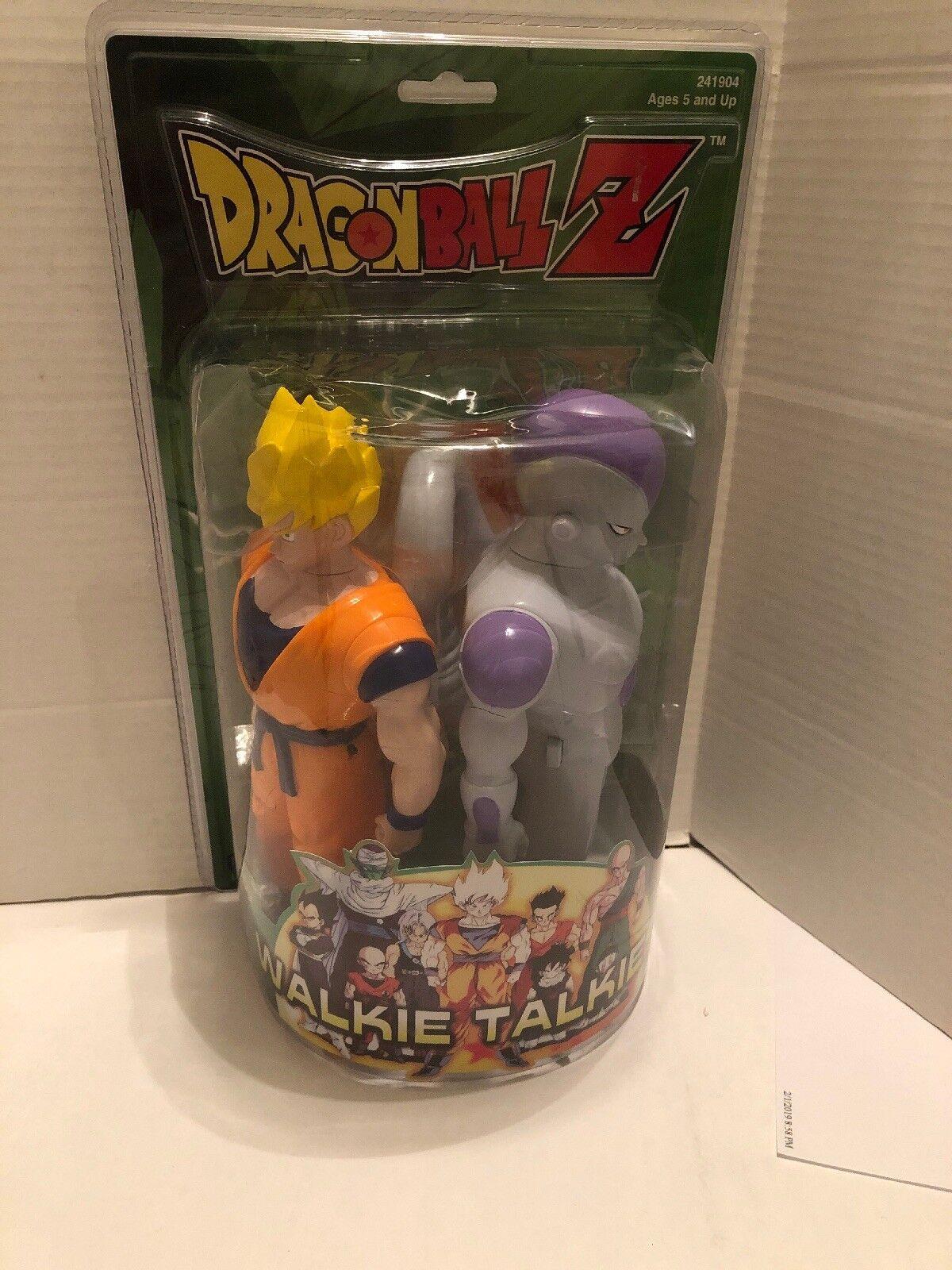 drakeboll Z promänadie Talkies Super Saiyan Goku och Frieza Ny Funimation 1999 MGA