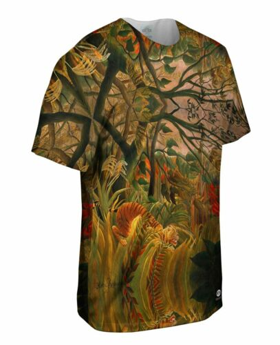 """/""""Tiger in a Tropical Storm/"""" Yizzam New Men Unisex Tee Shirt"""