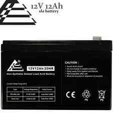 12v 12ah Sealed Lead Acid AGM Rechargeable Deep-Cycle Battery replaces CA12120