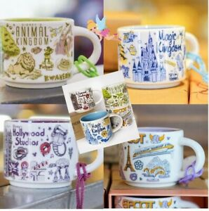 Details About Disney World Parks Starbucks Been There Coffee Mug Ornament Set Ak Mk Hs Epcot