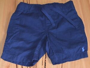 Ralph-Lauren-Boys-Shorts-BLUE-SIZES-2-3-4-5-6-amp-8-NEW