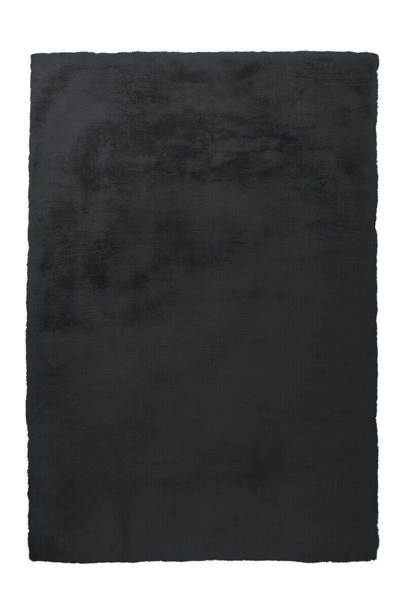 Arte Espina d'un épais Tapis Fourrure Simili doux confortable Anthracite 160x230cm