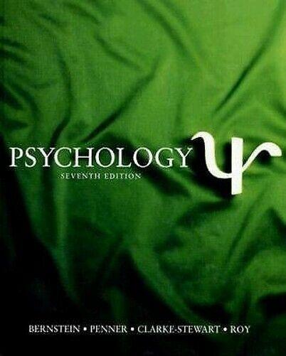 Psychology von Bernstein, Douglas A Exlibrary