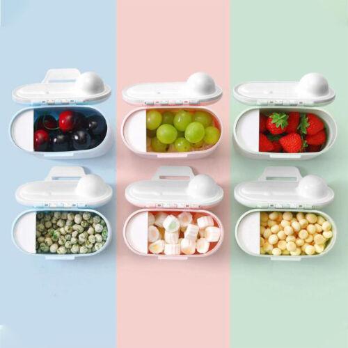 Infant Baby Milk Powder Formula Dispenser Food Container Pot Storage Feeding Box