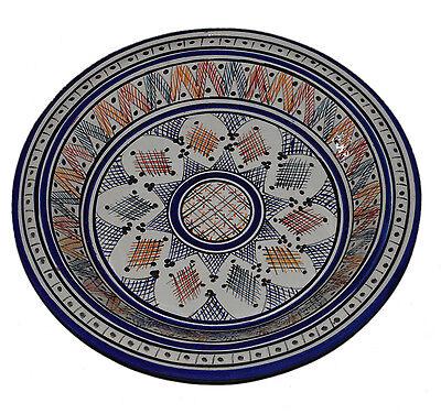 Moroccan Shallow Platter Deep Bowl Gsaa Kasria Casriya Couscous Kesariya Gasaa