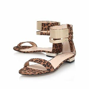 de Carvela Uk 39 Shoes Eu Sandals cierre leopardo de venta 6 estampado fn0fpUq
