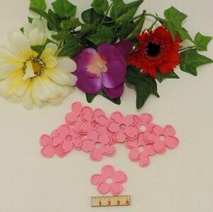 11 Tolle Blumen Aus Filz Rosa 4cm Basteln Karten Geburtstag