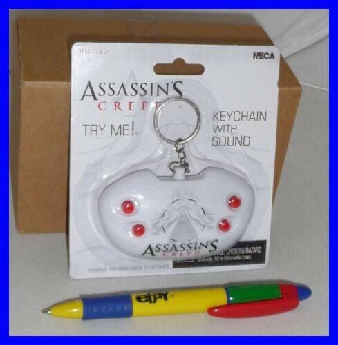 ASSASSIN/'S CREED Keyring PORTACHIAVI Controller SUONI GIOCO Game Sounds NECA