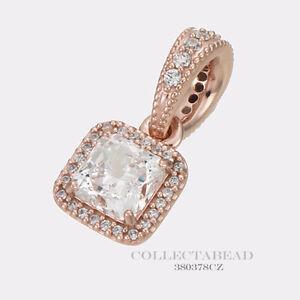 225acb79a Image is loading Authentic-Pandora-Silver-PANDORA-Rose-Timeless-Elegance-CZ-